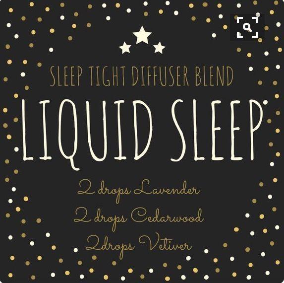 Liquid sleep #aromatherapysleepblends