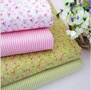 2 015 Новый стиль Пастырское хлопок Лоскутное шитье ткань tecido Детское постельное белье мешок ткани Tissu одеяла кукла ручной работы DIY Ткань L2