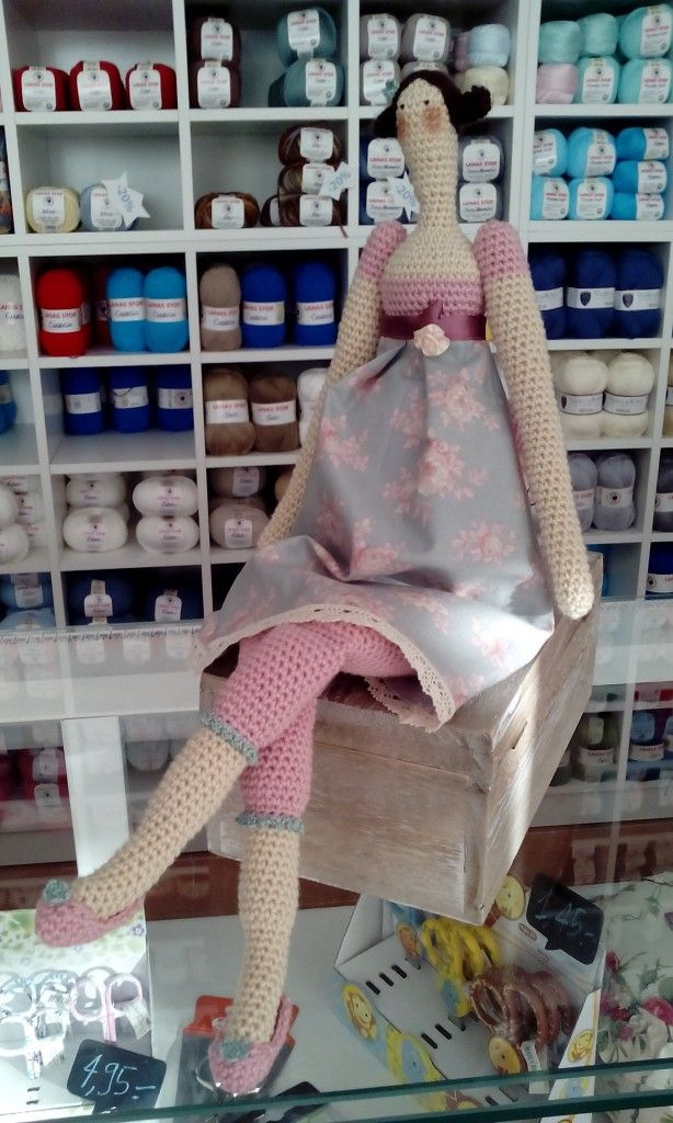 Tilda crochet patrones Más