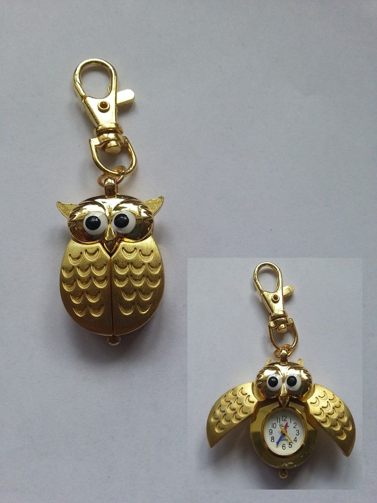 fobs keyrings best uk watches a images funny keyring rings ring on and angelzamir gold pinterest finish in owl key chains