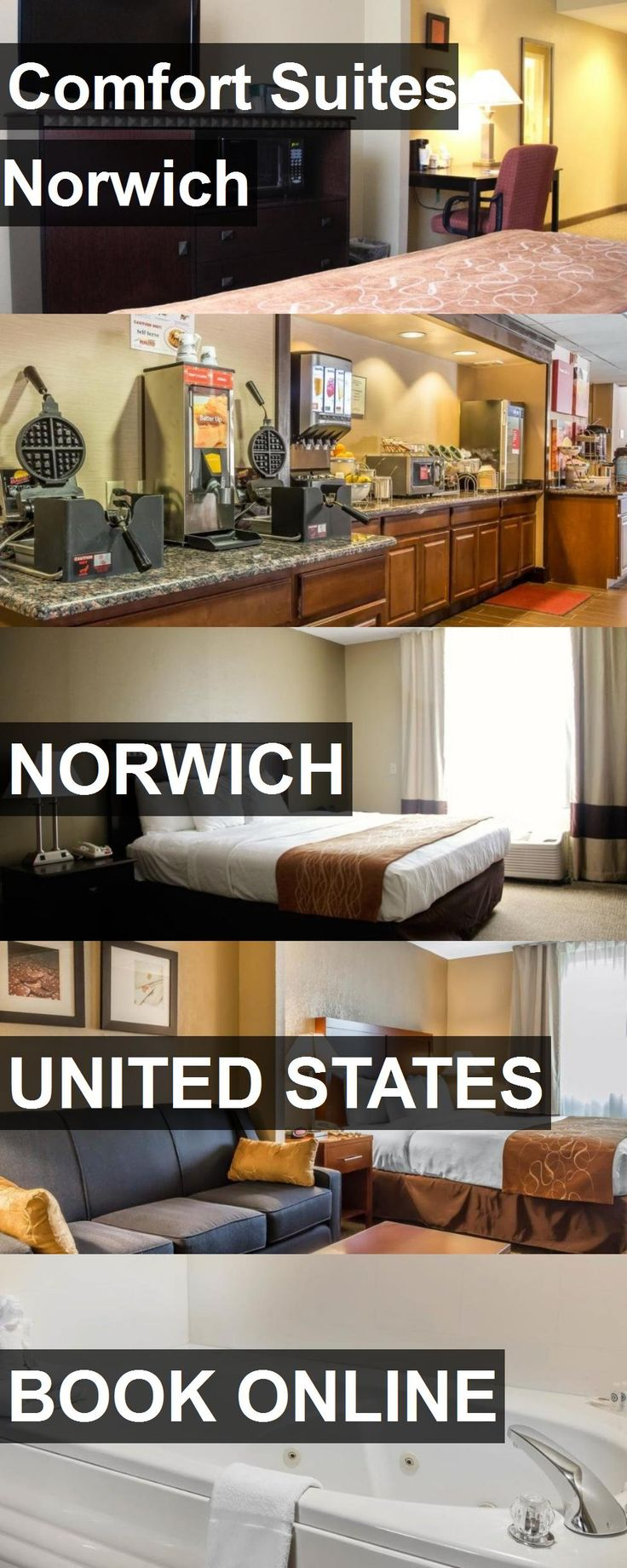 Hotel Comfort Suites Norwich in Norwich, United States. For more information, photos, reviews and best prices please follow the link. #UnitedStates #Norwich #ComfortSuitesNorwich #hotel #travel #vacation