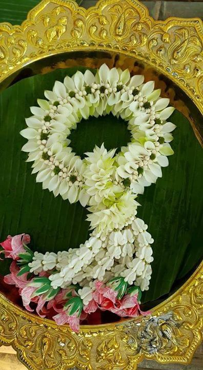 thai garland thai flower pinterest garlands and weddings. Black Bedroom Furniture Sets. Home Design Ideas