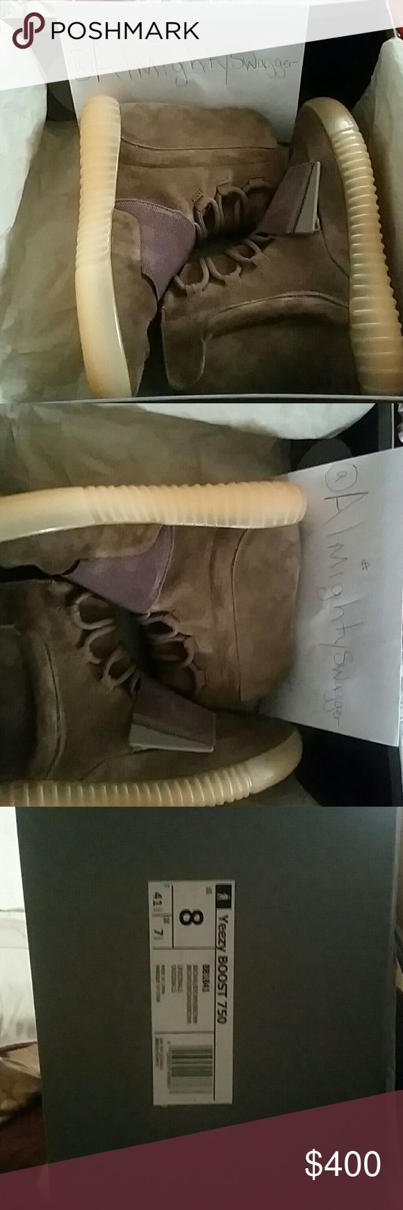 Authentic Yeezy Boost 750 Brown yeezy Boost 750 adidas Shoes Sneakers