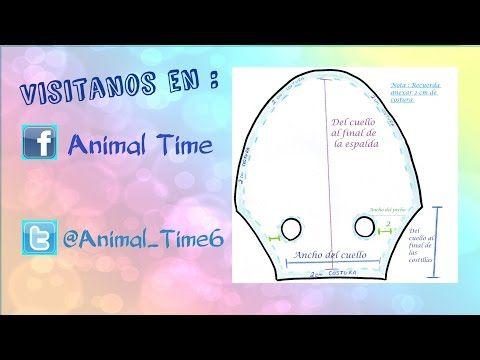 DIY-Como Hacer un MOLDE BASE para Ropita de Mascotas. - YouTube