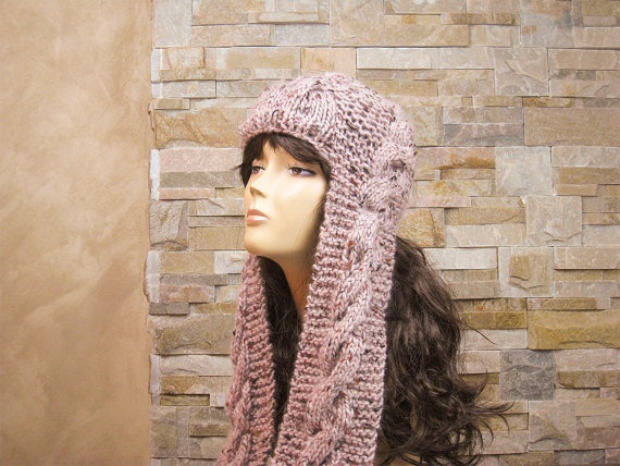 Hand Knit Hat Womens Hat Winter Fashion Winter by easycrochet, $50.00