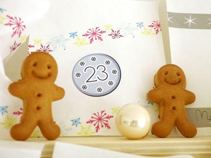 ★ gefüllter Adventskalender ★ Schmuck I ★ mini von LilaZimtStern auf DaWanda.com