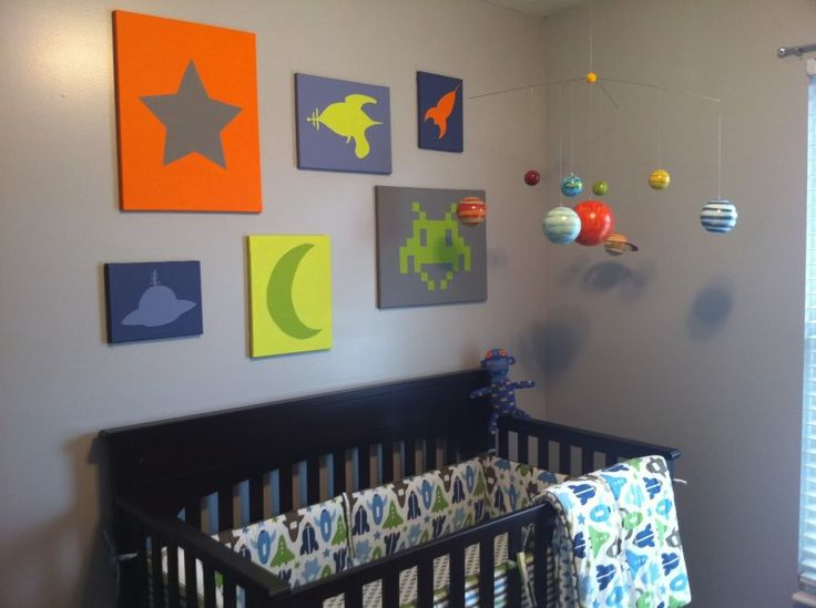 17 best images about space themed nursery on pinterest. Black Bedroom Furniture Sets. Home Design Ideas