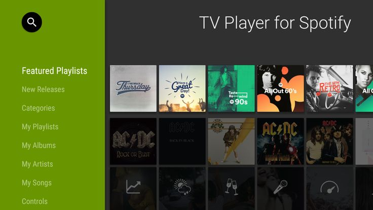 http://www.doyougeek.com/wp-content/uploads/2016/05/TV_Player_For_Spotify-1024x576.png - Spotify sbarca su Android TV - http://dyg.be/jstA3 - #ANDROID #AndroidTv #GoogleIO #Lollipop #Musica #Spotify #SpotifyMusicForAndroidTV