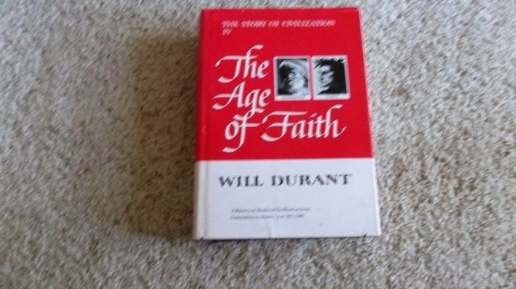 1950 The Age of Faith by Will Durant-The Story of Civilization