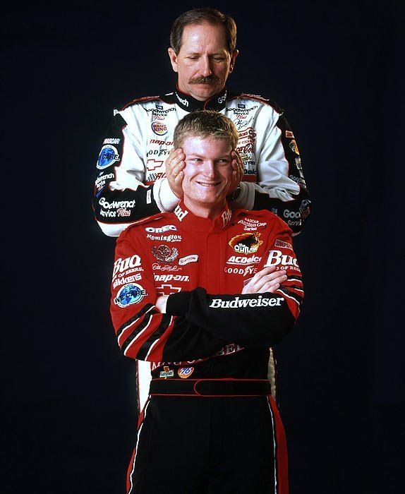 "Dale Earnhardt & Dale Earnhardt Jr... The 90's !!!! ""WOW"" The Memories♥ them......"