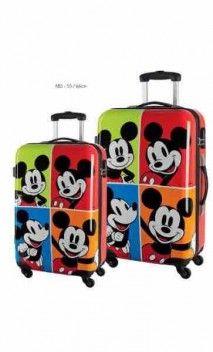 Juego maletas infantiles Mickey en Maletas Originales