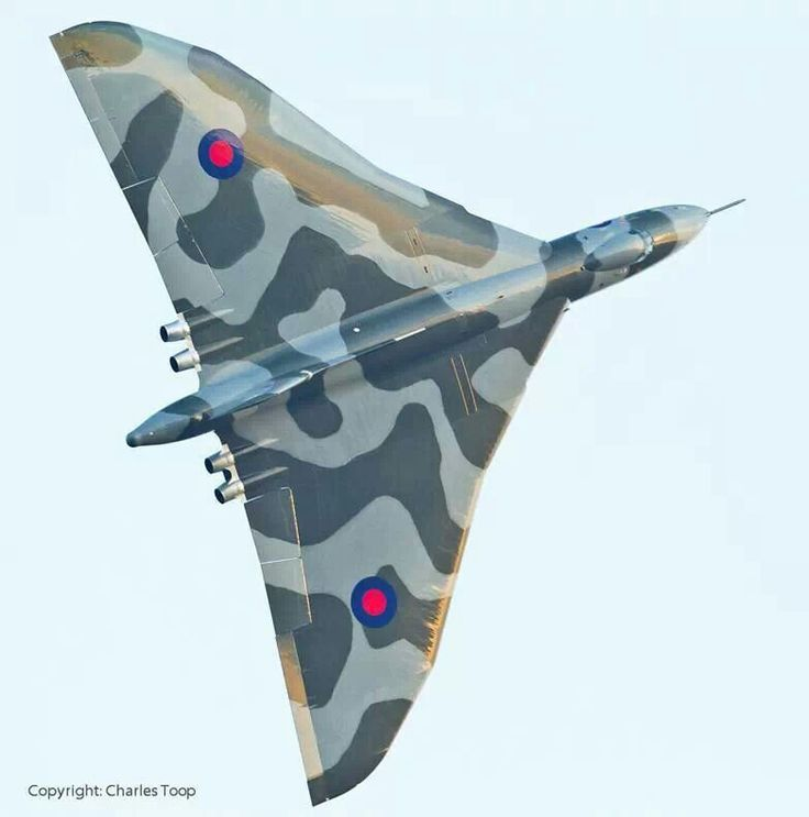 Vulcan XH558. Photo courtesy of Vulcan XH558 Facebook page and Charles Toop.