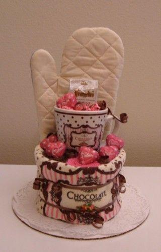 Chocolate towel cake