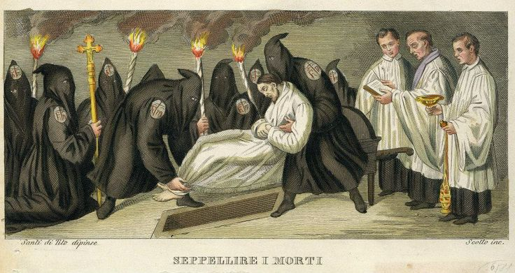 Seppellire i morti