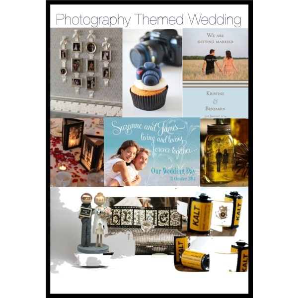Photography Themed Wedding by dreamdayinvitations on Polyvore