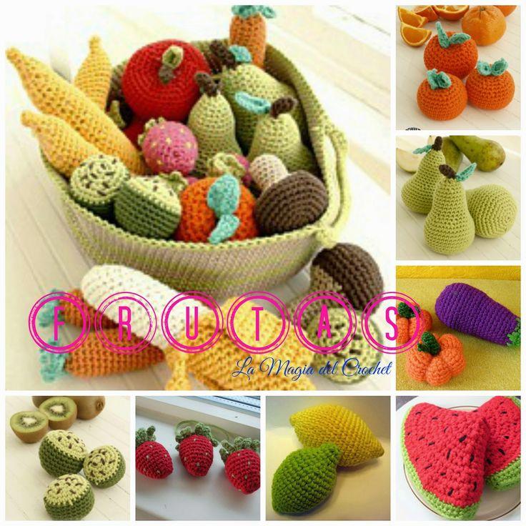 La Magia del Crochet: FRUTAS A CROCHET
