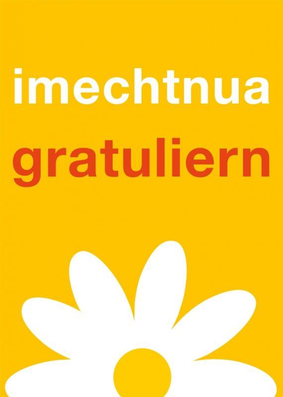 Postkarte Imechtnuagratuliern Ois Guade Zum Geburtstag Geburtstag Gratulieren Geburtstag Lustig