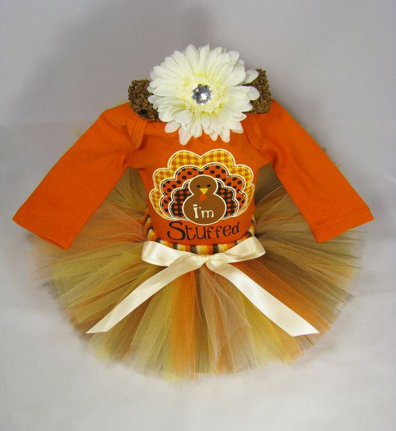 Babys First Thanksgiving Outfit   I'm by EleventhHourDesigns, $38.00! This might be Gracie's thanksgiving day outfit
