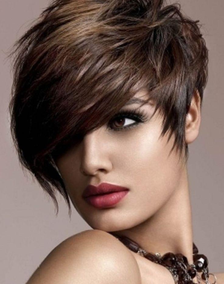 Kurzhaarfrisuren frau frech – elegante-frisuren… #Frisurentrends Frisurentrend…