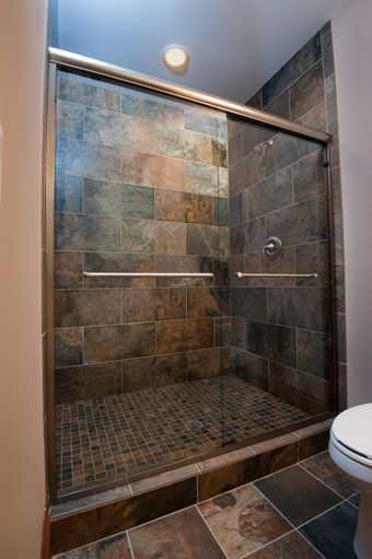 Infinity 4500 Clear Glass, Brushed Bronze Frame option for shower glass