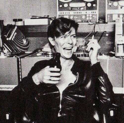 David Bowie, Hansa Studios, 1977. West Berlin