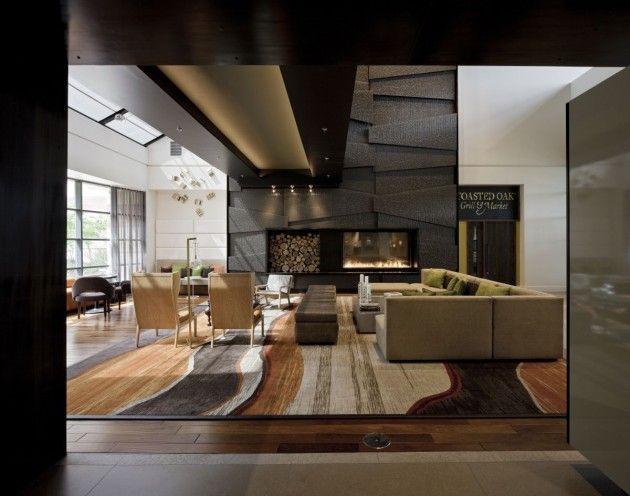 die besten 17 bilder zu hotel lobby design auf pinterest, Innenarchitektur ideen