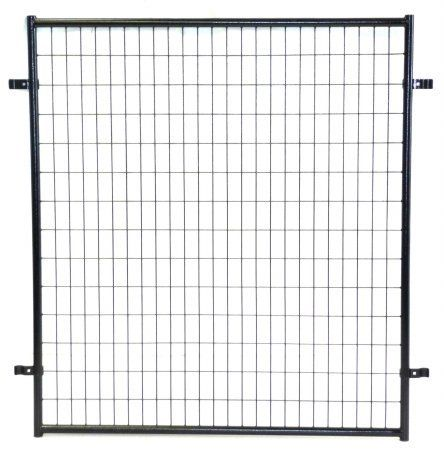 Dog Kennel Predator Blocking Panel- Lucky Dog Protection Panel for Modular Box Kennels - This Welded Animal Enclosure Predator Panel keeps your pet safe while outdoors in their kennel run. Dimensions (5'L x 5'W) #DogCratesHousesPens