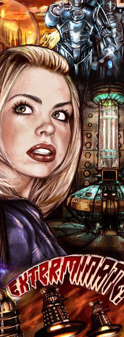Rose- Doctor Who pin up- DeviantArt