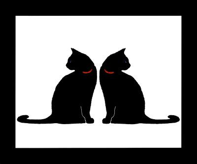 Two Black Cats | WritersCafe.org | The Online Writing Community