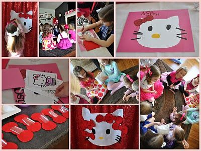 Fig & Ruby: hello kitty lots of activities - - remember to check back at the craft section (make place mats)
