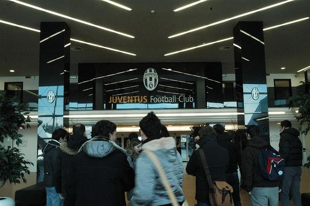L'ingresso dello Juventus Stadium di Torino
