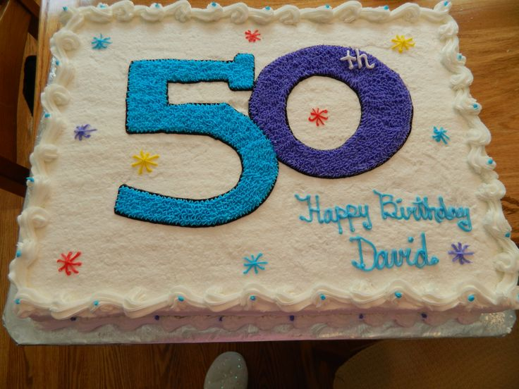 Cake Decoration Ideas For 50th Birthday : 39 best images about 50th Birthday Cakes & Gifts on ...