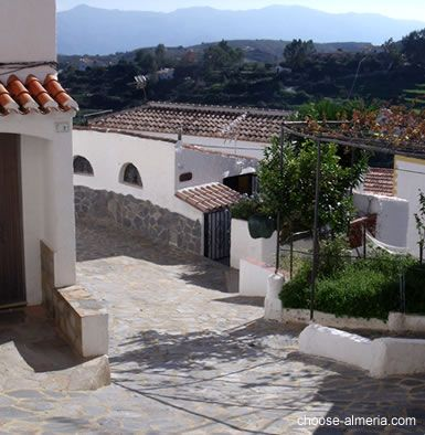 Traditional village street of Bedar - Almeria