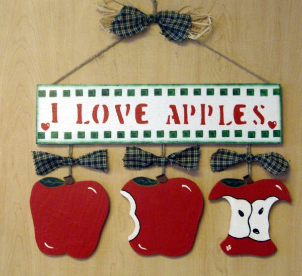 25 best ideas about apple decorations on pinterest for Apple decoration ideas