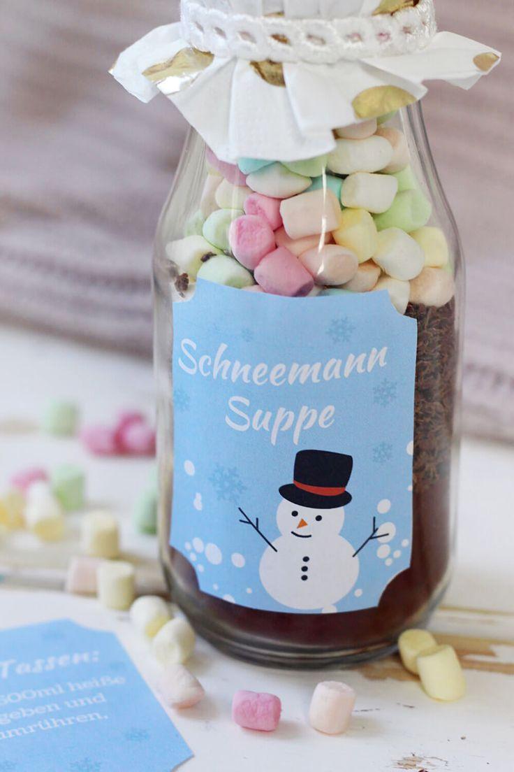 heie schokolade im glas selber machen originelle diy geschenk idee - Kchen Mit Weien Schrnken Und Dunklen Bden