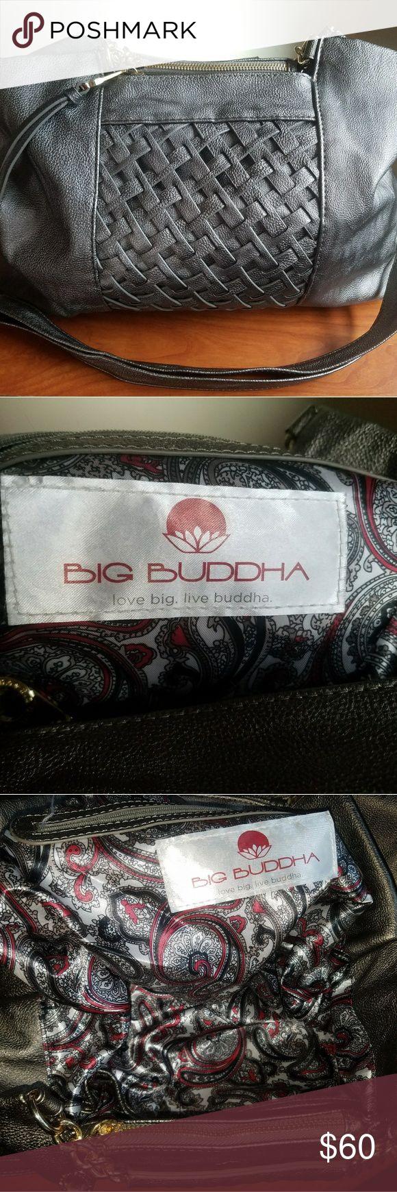 Big buddha purse Silver/gray big buddha over sizes purse new without tags. Big Buddha Bags Hobos