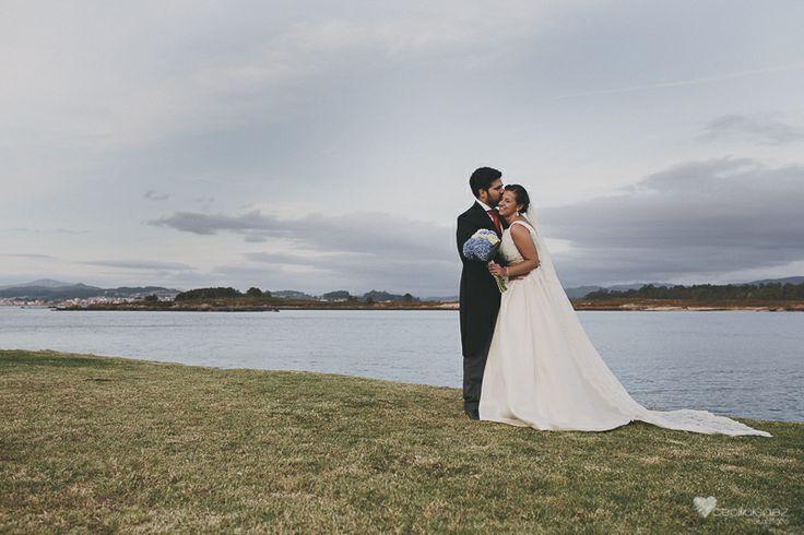 Fotografia romantica de boda pontevedra.