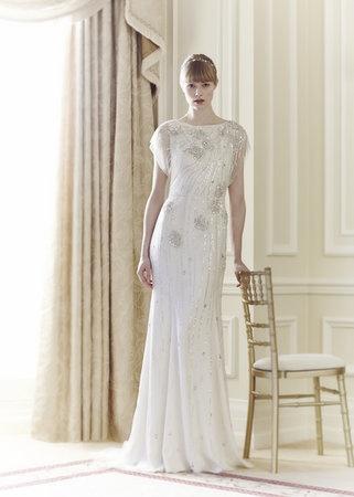 Ethereal beaded wedding dress by Jenny Packham