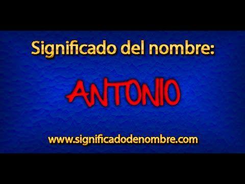 Mejores 15 imgenes de nombres en pinterest significados de significado de antonio antonio es un nombre masculino espaol que procede del latn antonia su origen verdadero lo podemos encontrar en la mitologa fandeluxe Images