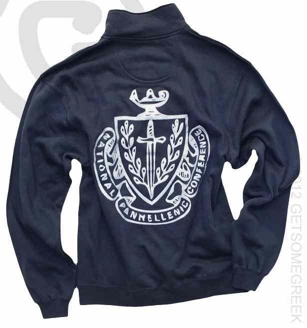 Panhellenic Council Crest Quarter Zip