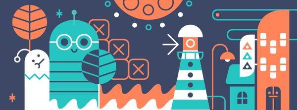 #flat_illustration  Momo & Sprits visuals on Behance