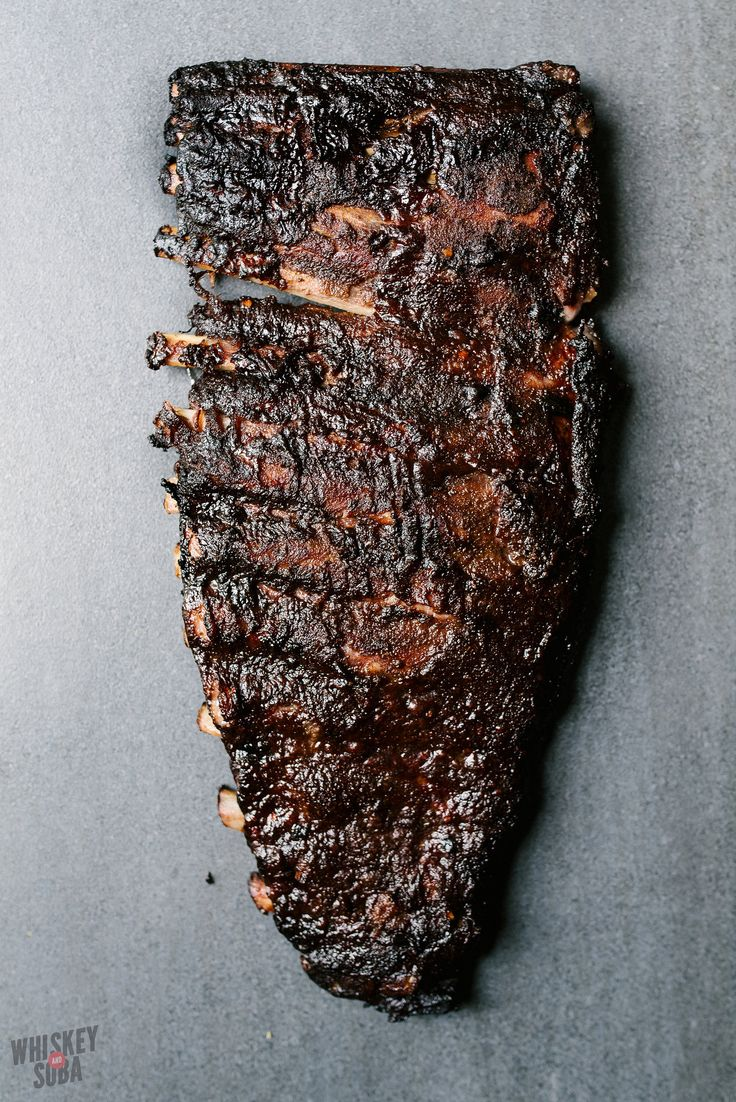 The Most Epic Asian Smoked Pork Ribs