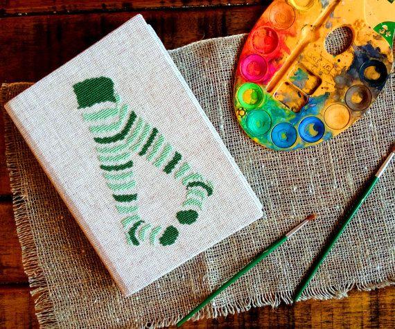 """Эко скетчбук """"Будь собой"""" - Блокнот с вышивкой крестом - Вышитый эко блокнот - Скетчбук - Блокнот из переработанной бумаги - Для рисования"""