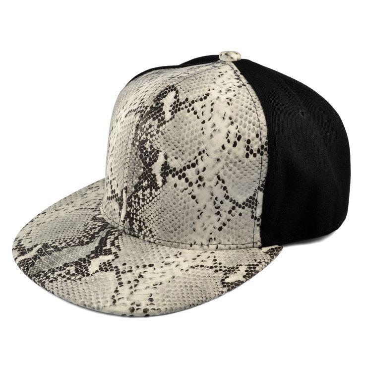 Python Frontpanel Snapback Cap - 289,00kr