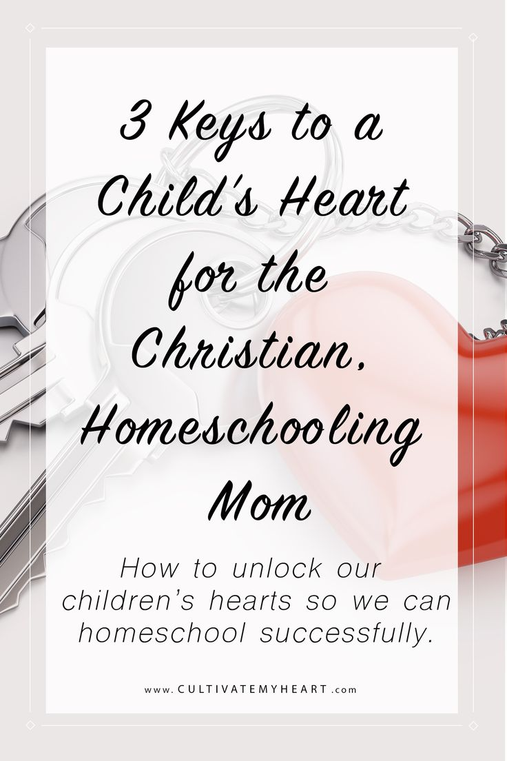 How can you educate your children's minds if you don't have their hearts first? Discover three keys to unlock the hearts of your children so you can homeschool successfully. via @kaycultivatemyheart