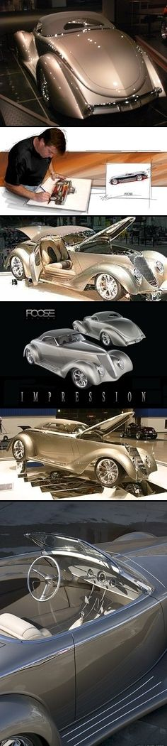 "Foose Design 1936 Ford Hardtop Convertible ""Impression"""