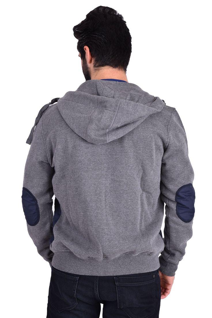 Mavi Erkek Kapşonlu Sweatshirt 062334 GRİ MELANJ | Markaysamarka ...