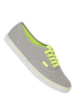 VANS Authentic Low Pro neon grey/yellow #planetsports
