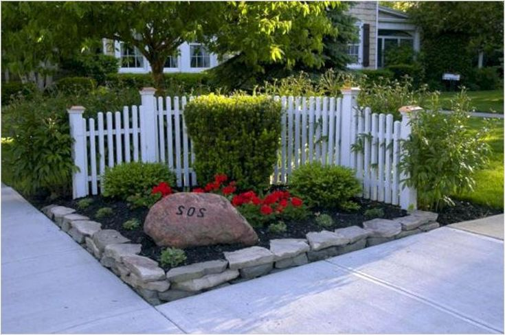 beautiful front yard privacy fence