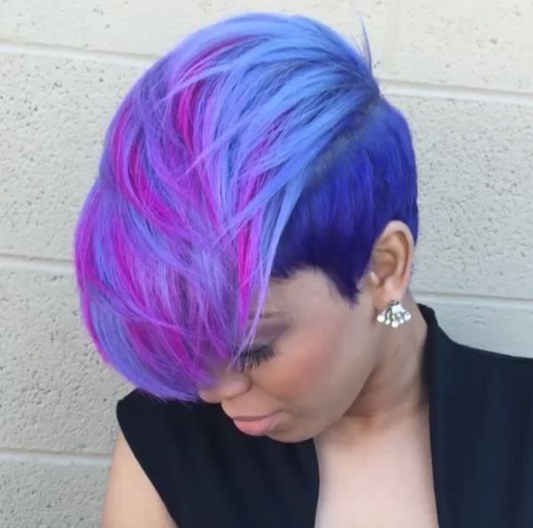 @salonchristol always brings it with the color! - Black Hair Information Community